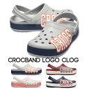 【クロックス crocs 】crocband logo clog/クロックバンド ロゴ クロッグ/メンズ レディース