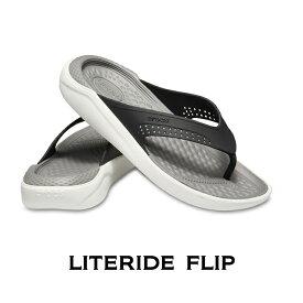 【クロックス crocs メンズ レディース】LiteRide Flip/ライトライド フリップ