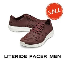 【クロックス crocs S】literide pacer men/ライトライド ペイサー メンズ/スニーカー