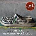 【クロックスcrocs】literiderealtreeMAX5clog/ライトライドリアルツリーマックス-5クロッグ/リカバリーサンダル/メンズレディース