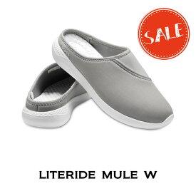 【クロックス crocs レディース b】literide mule/ライトライド ミュール