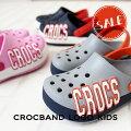 【クロックスcrocsキッズ】crocbandlogokids/クロックバンドロゴキッズ