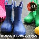 【クロックス crocs キッズ】handle it rain boot kids/ハンドル イット レインブーツ キッズ