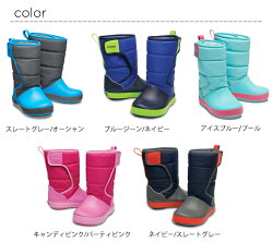 crocs【クロックスキッズ】crocbandlodgepointbootkids/クロックバンドロッジポイントブーツキッズ