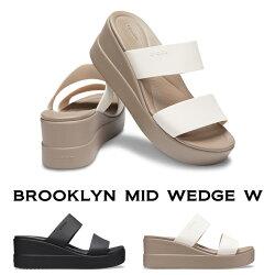 【クロックスcrocsレディースb】brooklynmidwedge/ブルックリンミッドウェッジウィメン