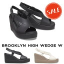 【クロックス crocs レディース b】brooklyn high wedge /ブルックリン ハイ ウェッジ ウィメン
