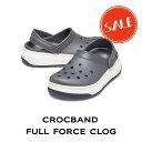 【クロックス crocs メンズ レディース】corcband full force clog/クロックバンド フル フォース クロッグ