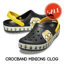 【クロックス crocs 】crocband minions clog/クロックバンド ミニオンズ クロッグ/メンズ レディース
