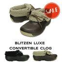 【クロックス crocs メンズ レディース ボア】blitzen luxe convertible clog/ブリッツェン ラックス コンバーチブル …