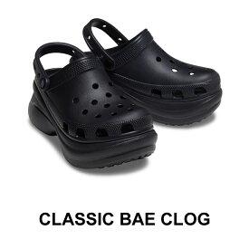 【クロックス crocs レディース b】Classic Bae Clog Ws/クラッシク ベイ クロッグ/ブラック