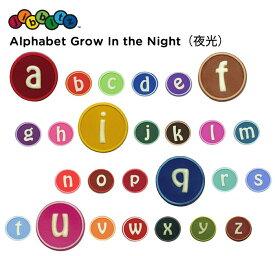 【クロックス jibbitz ジビッツ】Alphabet Grow In the Dark/アルファベット(夜光) 1:a〜p