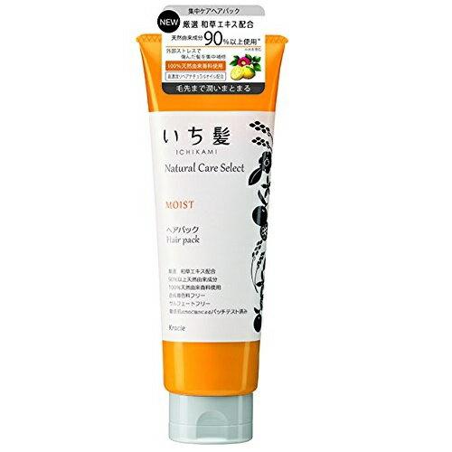 いち髪 ナチュラルケアセレクト モイストヘアパック 180gmL シトラスフローラルの香り