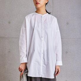 【SALE 50%OFF】オーバーシルエットシャツ レディース ブラウス シャツ 刺繍  長袖