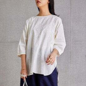 【SALE 50%OFF】繊細アンティーク刺繍ブラウス レディース ブラウス 刺繍 セレモニー