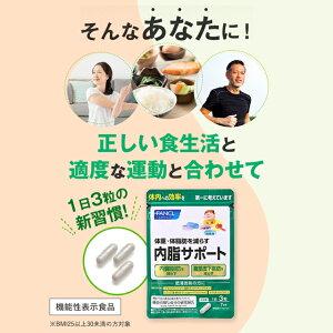 内脂サポート<機能性表示食品>約90日分(徳用3袋セット)【ファンケル公式】送料無料FANCL体重体脂肪サプリメント