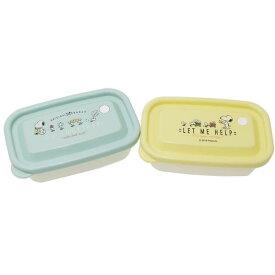 カミオジャパン お弁当箱 フ−ドコンテナ2個セット スヌーピー おつかい
