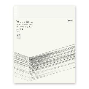 ミドリ ノート スケッチブック F2サイズ MDノート コットン
