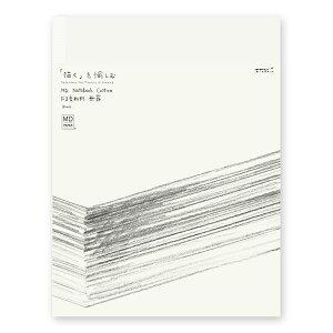 ミドリ ノート スケッチブック F3変形サイズ MD コットン