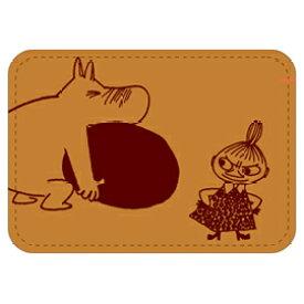 学研 カードケース 刺繍合皮カードケース ムーミン ブラウン