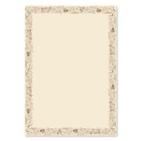 パピアプラッツ OAデザイン用紙 A4サイズ ローズ