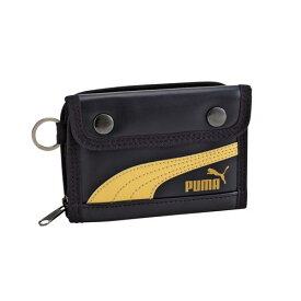 クツワ 財布 PUMA レザ−ミドルウォレット ネイビ− プーマ