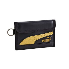 クツワ 財布 PUMA レザ−スリムウオレット ネイビ− プーマ
