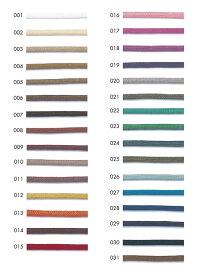 ※ワックスコード 丸 3mm《1反購入50%オフ》合皮タッチのコーティングコードです。※特殊加工(蝋引き加工)品の為、表記サイズと異なる場合がございます。ご理解ご了承の上、ご使用願います。