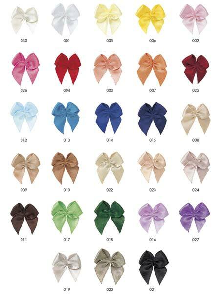 蝶リボン サテンかわいいサテン素材の蝶リボンです!