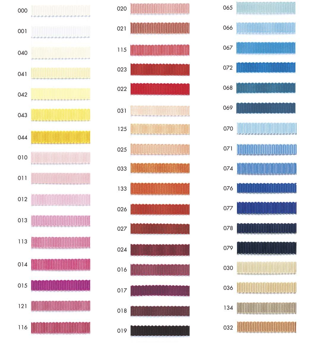ポリエステル ペタシャムリボン 9MMポリエステルのペタシャムリボンです。100色のカラーバリエーションの中からお選びください