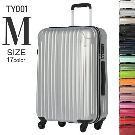 【期間限定値下げ中】 スーツケース mサイズ キャリーケース キャリーバッグ かわいい m TSAロック 旅行バッグ 超軽量 トラベルバッグ ビジネス レディース 4輪 バックパック TY001 中型
