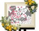 【Disney】ディズニー ミッキー&ミニー 結婚式 ウェルカムボード ウェディングツリー (Kissマーク)