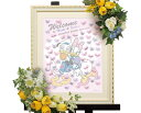 【Disney】ディズニー ドナルド&デイジー 結婚式 ウェルカムボード ウェディングツリー (LOVE)