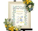 【Disney】ディズニー ドナルド&デイジー 結婚式 ウェルカムボード ウェディングツリー (フラワー)