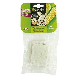 イタリアferplast社製 コーンスターチベースのチューイングトイ グッドバイト 小動物用 チーズ(2個入り)