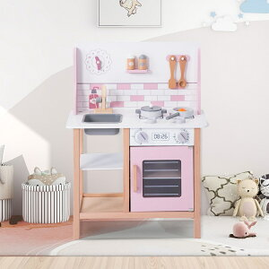 【送料無料】知育玩具 ままごと キッチン おままごとセット 木製 調理器具付き クッキング かわいい 子ども用 室内遊び