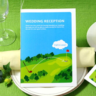 """""""Put product name and sport' bridal paper items Golf seating table brochure hand-made sets, wedding seating"""