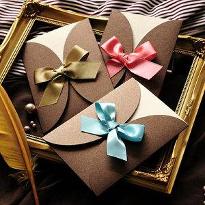 招待状 手作りセット「ルネ」 / 結婚式 招待状 手作りキット パーティー 封筒 返信はがき