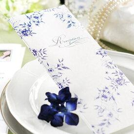 大人kawaii花柄デザイン 席次表 完成品(印刷込)フローラ /結婚式 ペーパーアイテム プロフィール込