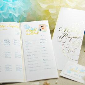 席次表 完成品(印刷込) ロッティマリン /結婚式 ペーパーアイテム プロフィール込
