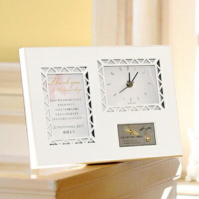 両親へのプレゼント 結婚式 「オルゴールバタフライ(時計)」