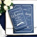招待状 手作りセット「classical(クラシカル)」 /結婚式 招待状 手作りキット パーティー 封筒 返信はがき