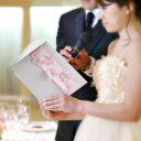 【NEW】花嫁からの手紙「アジサイリボン」便箋付・結婚