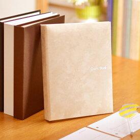 【あす楽】4タイプから選べる!ゲストブック「シンプルバインダー」/受付アイテム 芳名帳 結婚式