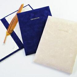 選べる2色[送料無料]結婚証明書「ベローチェ(VELOCE)」結婚式 人前式 チャペル式 誓約書 あす楽対応