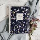 【あす楽】グラフィックゲストブック「フルーレット」/結婚式 芳名帳