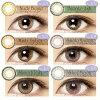 ◆ (모양) [1 박스 30 장] 1 일/DIA14.0/± 0.00 ~ 10.00 (도 고도 없음) 칼라 컴 컬러 콘택트 colored contactlens/color contact