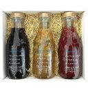 送料無料『フルーツソース大瓶3本セット』お徳用 贈り物 詰め合わせ 誕生日 プレゼント お中元 御歳暮 お年賀 御挨拶 …