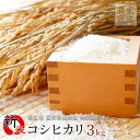 新米 コシヒカリ 3kg 令和2年産 滋賀県産 近江米