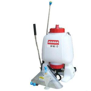 除草剤、消毒用噴霧器 ASABA 樹脂製背のう噴霧器 SP-10J【耐久性に優れた樹脂製】