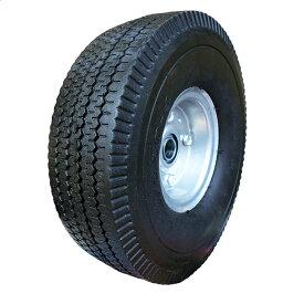 ノーパンクタイプ コンテナカー 交換用タイヤ 4.10/3.50-4 片軸 C-10